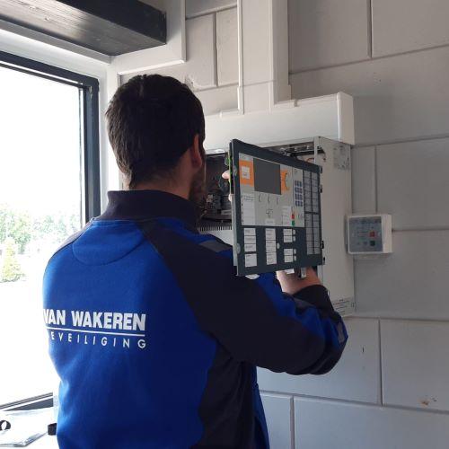 Service- en onderhoudsmonteur brandmeldsystemen